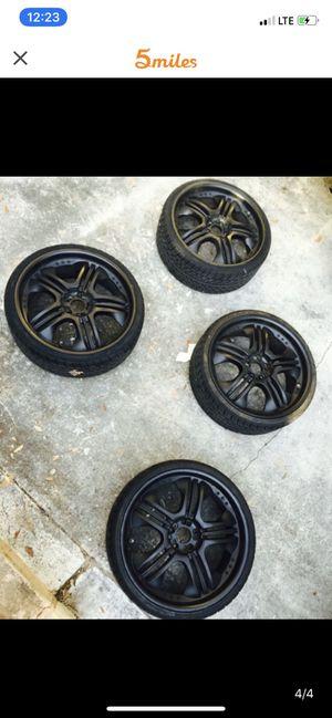 "22""Inch Black Rims for Sale in Orlando, FL"