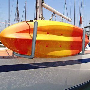 NEW 20 IN. REMOVABLE RAIL MOUNTED KAYAK / SURFBOARD WAKEBOARD BOAT RACK for Sale in Phoenix, AZ
