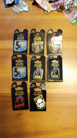 Disney pins limited edition of 1000 each for Sale in Puyallup, WA