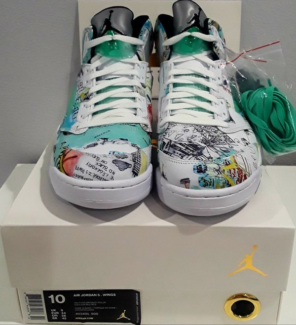 85098e9af8bc7a New Air Jordan 5 Retro Wings SZ10 for Sale in Los Angeles