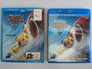 Cars 3 - Blu-ray + DVD Only for Sale in La Puente, CA