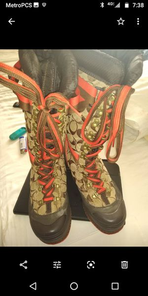 Women's Coach boots for Sale in Camp Springs, MD