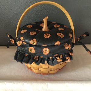 Longaberger Little Pumpkin Halloween Basket Combo for Sale in Englewood, CO