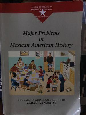Major Problems in Mexican American History for Sale in La Puente, CA