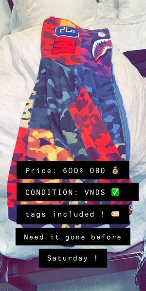 BAPE hoodie brand new ! Size S/M/L need it gone ASAP for Sale in Nashville, TN