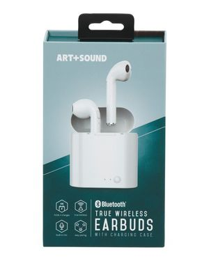 Art+Sound True Wireless Earbuds With Charging Dock- White for Sale in Phoenix, AZ
