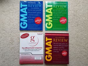 GMAT prep books for Sale in Morrisville, NC