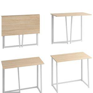 Folding Desk White & Oak for Sale in Washington, DC