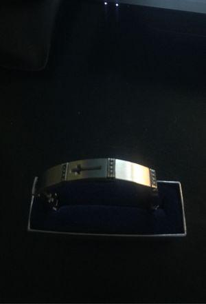 Montana Sliversmiths Steel cross Bracelet for Sale in Alexandria, VA