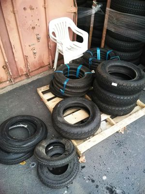 Trailer tires for different prices on the low low for Sale in Hayward, CA