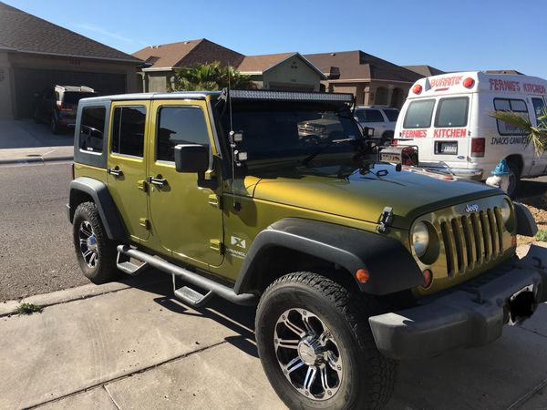 Jeep El Paso >> 2008 Jeep Wrangler for Sale in El Paso, TX - OfferUp