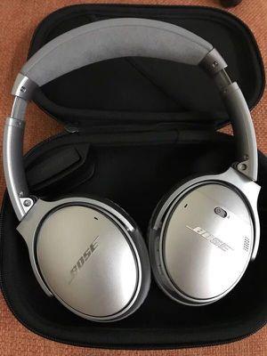 Bose Quietcomfort 35II Wireless Headphone Silver for Sale in Layton, UT