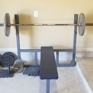 Bench Press, Weights for Sale in San Antonio, TX