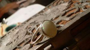 Opal ring. Fine silver for Sale in Avon, MA