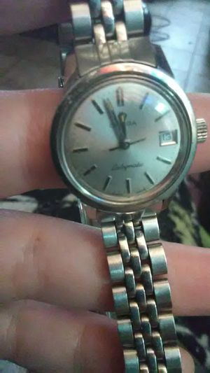 vintage ladies OMEGA LADYMATIC in stainless steel with the original OMEGA bracelet for Sale in Washington, DC