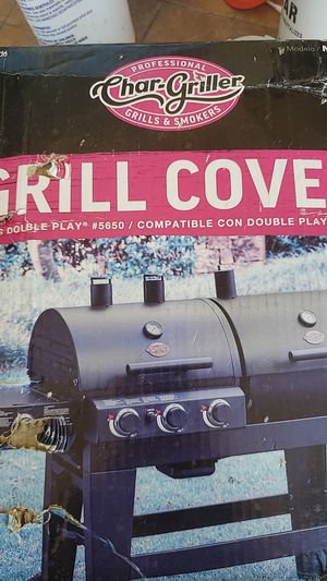 Char-Griller Douple Play Bbq Grill Cover for Sale in Mesa, AZ