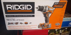 Rigid 18 v cordless drill for Sale in Pueblo, CO
