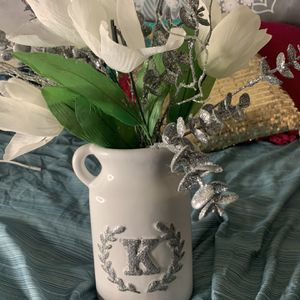 Vase With Fake Flowers for Sale in Baltimore, MD