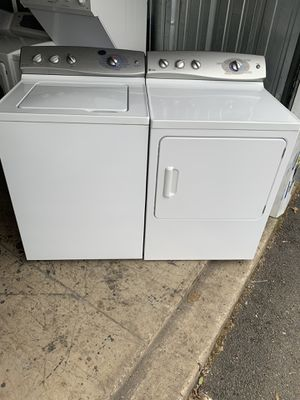 GE electric Washer and dryer good condition for Sale in Sterling, VA