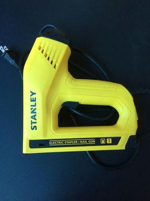 Stanley heavy duty electric stapler nailer tacker staple gun Tool for Sale in Gilbert, AZ