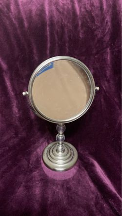 Vanity Makeup Mirror/ Regular & Magnifying Sides for Sale in Murfreesboro,  TN