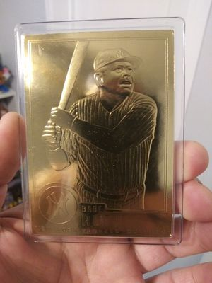 22k Gold Babe Ruth Baseball card for Sale in Bell, CA
