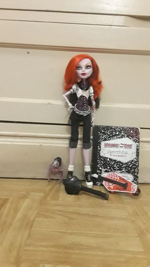 Monster high doll opereta for Sale in Phoenix, AZ