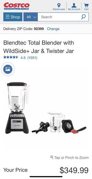 Blendtec Total Blender w/ Wildside & Twister Jar for Sale in Ontario, CA