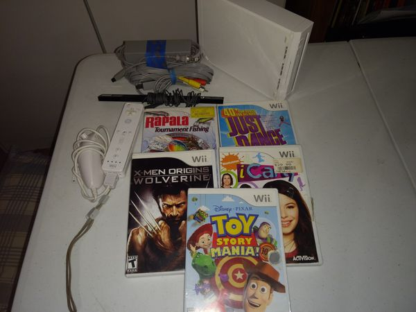 Firm price Nintendo Wii with games