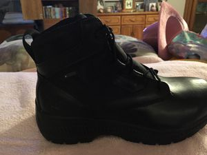 BRAND NEW IN BOX SIZE 9.5 TIMBERLAND PRO WORK BOOTS with REINFORCED TOES for Sale in Phoenix, AZ
