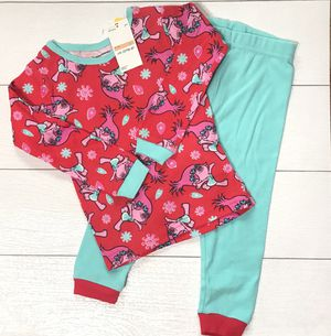 Dreamworks Trolls 2 piece pajama set for Sale in Edgewood, WA
