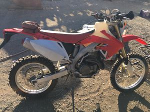 2005 Honda CRF450x - Electric Start Model! for Sale in Anaheim, CA