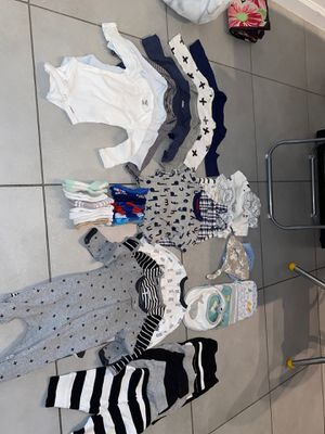 Baby Clothes Newborn-3 months for Sale in Fort Lauderdale, FL
