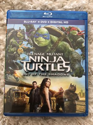 Ninja turtles out of the shadows for Sale in Tacoma, WA
