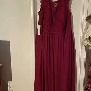 NEW Azazie Plus Size 24 Custom Formal Bridesmaid Prom Holiday Dress for Sale in Beverly Hills, CA
