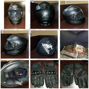 Motorcycle Helmet & Gloves for Sale in Washington, DC