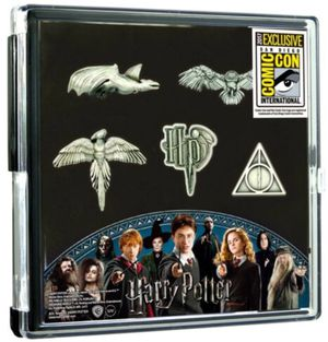 Harry Potter Collectible Pewter Pin Set for Sale in Los Angeles, CA