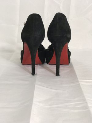 Christian Louboutin Fringe Suede Pumps for Sale in Columbus, OH
