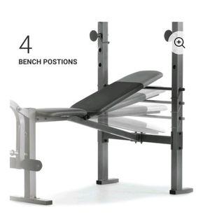 Weider XR 6.1 Weight Bench w/ Rack - New for Sale in Garden Grove, CA