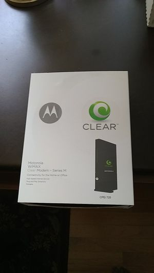 Motorola Clear Modem for Sale in Naperville, IL