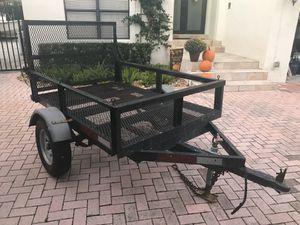 Heavy Duty 4ft x 6ft trailer. for Sale in Miami, FL