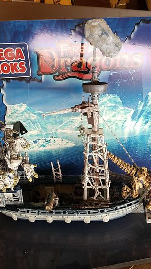 Mega bloks Collectible Fire Ice Dragons for Sale in Puyallup, WA