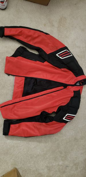 Shift motorcycle jacket armored jacket sportbike jacket red motorcycle jacket padded motorcycle jacket for Sale in Moreno Valley, CA