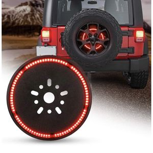 Spare Tire Brake Light Wheel Light 3rd Third Brake Light for Jeep Wrangler 2007-2017 JK JKU YJ TJ,Red Light for Sale in Rancho Cucamonga, CA