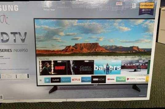 """Brand New 6 Series 50"""" Samsung! Open box w/ warranty XCM"""