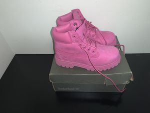 Brand New Timberland Boots Hot Pink Size 12c GIRLS for Sale in Atlanta, GA