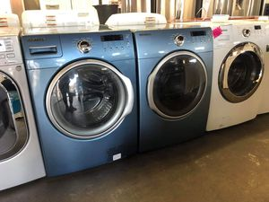 SAMSUNG FRONT LOAD WASHER AND DRYER SET for Sale in Ontario, CA