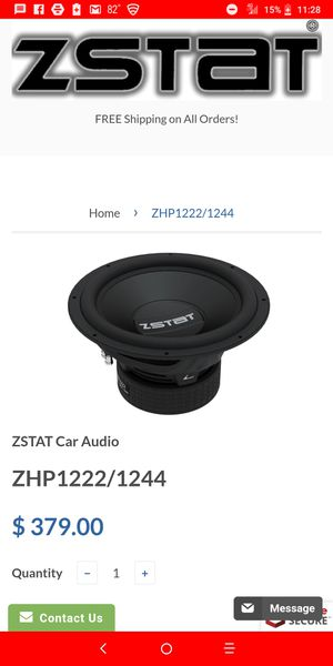 "ZSTAT by Razor 12"" subwoofer for Sale in Columbus, OH"
