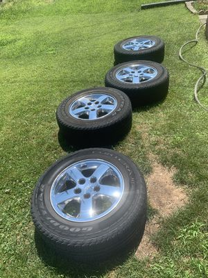 "Jeep Cherokee 17"" rims for Sale in San Antonio, TX"
