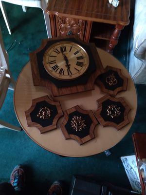 Antique clock set for Sale in Chicago, IL